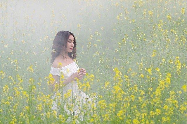 robe bohème blanche