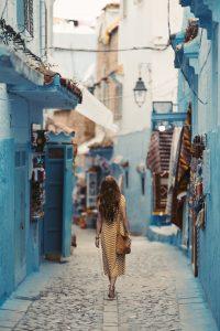 une robe pour flaner au maroc