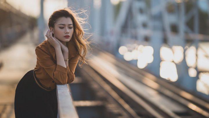 jeune femme style casual