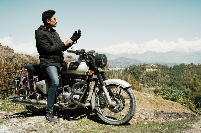 gant pour biker