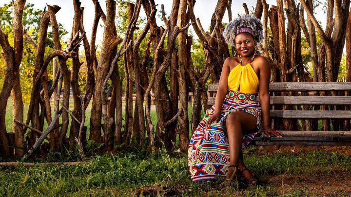 porter de robes africaines